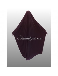 Jilbab Assalafiyat 1 Pièce Prune T1