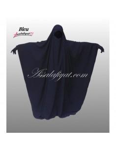 Jilbab Assalafiyat Saoudien Bleu T1