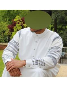 Qamis Enfant Lawung Blanc