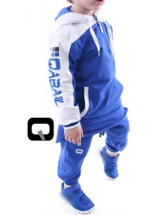 Qamis Enfant Qaba'il Bleu