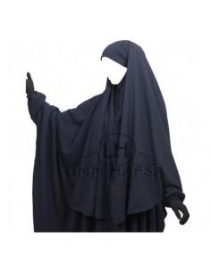 Hijab Cape Bleu Umm Hafsa