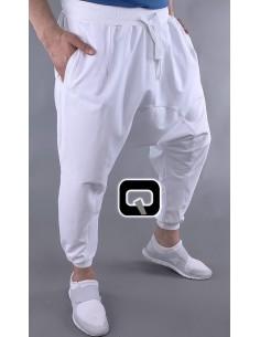 saroual jogging qaba'il Blanc