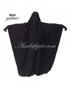 Jilbab Saoudien Noir - T2