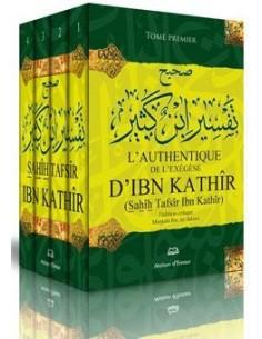 L'Authentique de l'Exégèse d'Ibn Khatir (Sahîh Tafsîr Ibn Kathîr) 4 Tomes