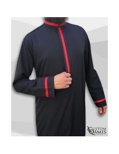 Qamis Trend Noir-Custom Qamis