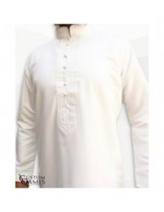 Qamis Sultan Blanc-Custom...