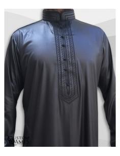Qamis Sultan Noir-Custom Qamis