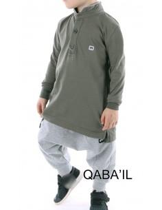 Polo Enfant kaki - Qaba'il