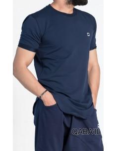Tee Shirt Nautik Bleu-Qaba'il