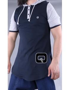 Tee Shirt Bleu Marine...