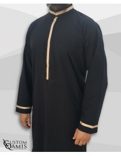 Qamis Trend Beige -Custom...