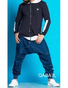 Veste Naoki Bleu Nuit- Qaba'il