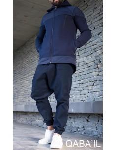 Manteau Montana Bleu -Qaba'il