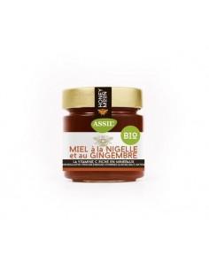 Miel à la Nigelle et au Gingembre Bio 350g