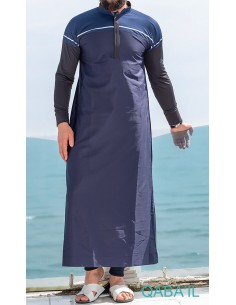 Qamis Classique II Bleu Nuit -Qaba'il