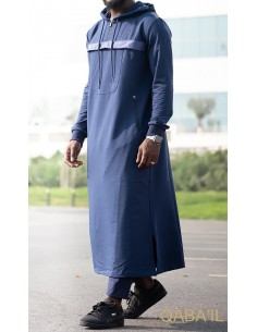 Qamis Furtif Bleu-Qaba'il