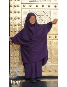 Jilbab Enfant Violet