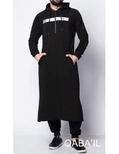 Qamis Vortex II Noir- Qaba'il