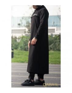 Qamis Furtif Noir -Qaba'il