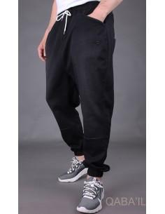 sarouel jeans stretch noir...