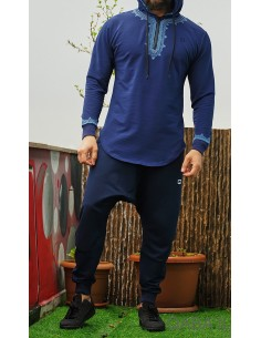 sweat etniz Marocco UP bleu...