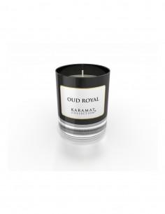 bougie parfumée oud royal