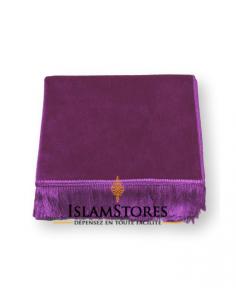 tapis de prière de haute qualité violet