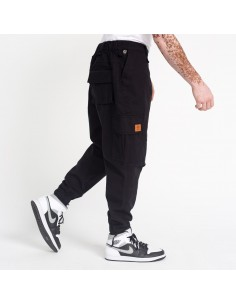 sarouel cargo noir-dc jeans