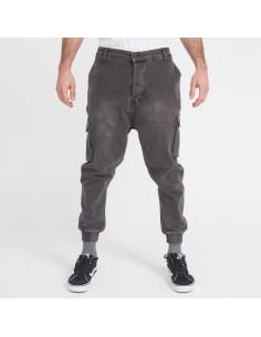 pantalon Jeans cargo grey-dc jeans