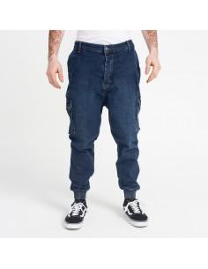 Pantalon Jeans cargo Blue used -dc jeans
