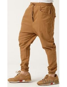 sarouel pant stretch camel-qaba'il