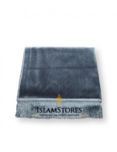tapis de prière haute qualité anthracite
