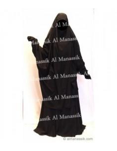 Jilbab Al Manassik 2 pièces Jupe Marron