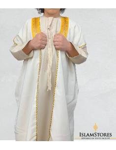 bisht (Cape Saoudien) enfant Blanc