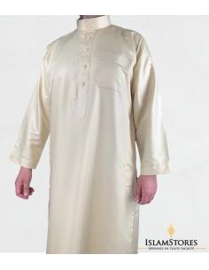 Qamis Saoudien Beige-Zein