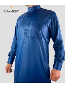 Qamis saoudien bleu roi - Emirat collection