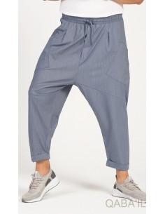 Sarouel Design Bleu Jeans - Qaba'il