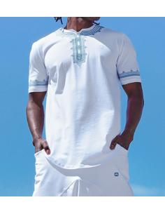 tee-shirt etniz up Blanc - Qaba'il