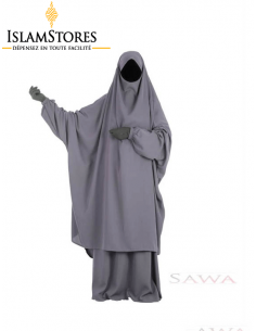 Jilbab Sawa : Jupe Gris (Taille 2)