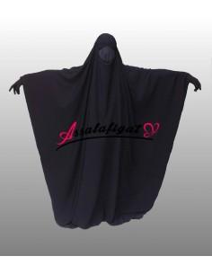 Jilbab Assalafiyat Saoudien Noir T1
