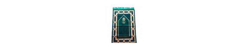 Tapis de prière : Une gamme de tapis avec des coloris divers et variés.